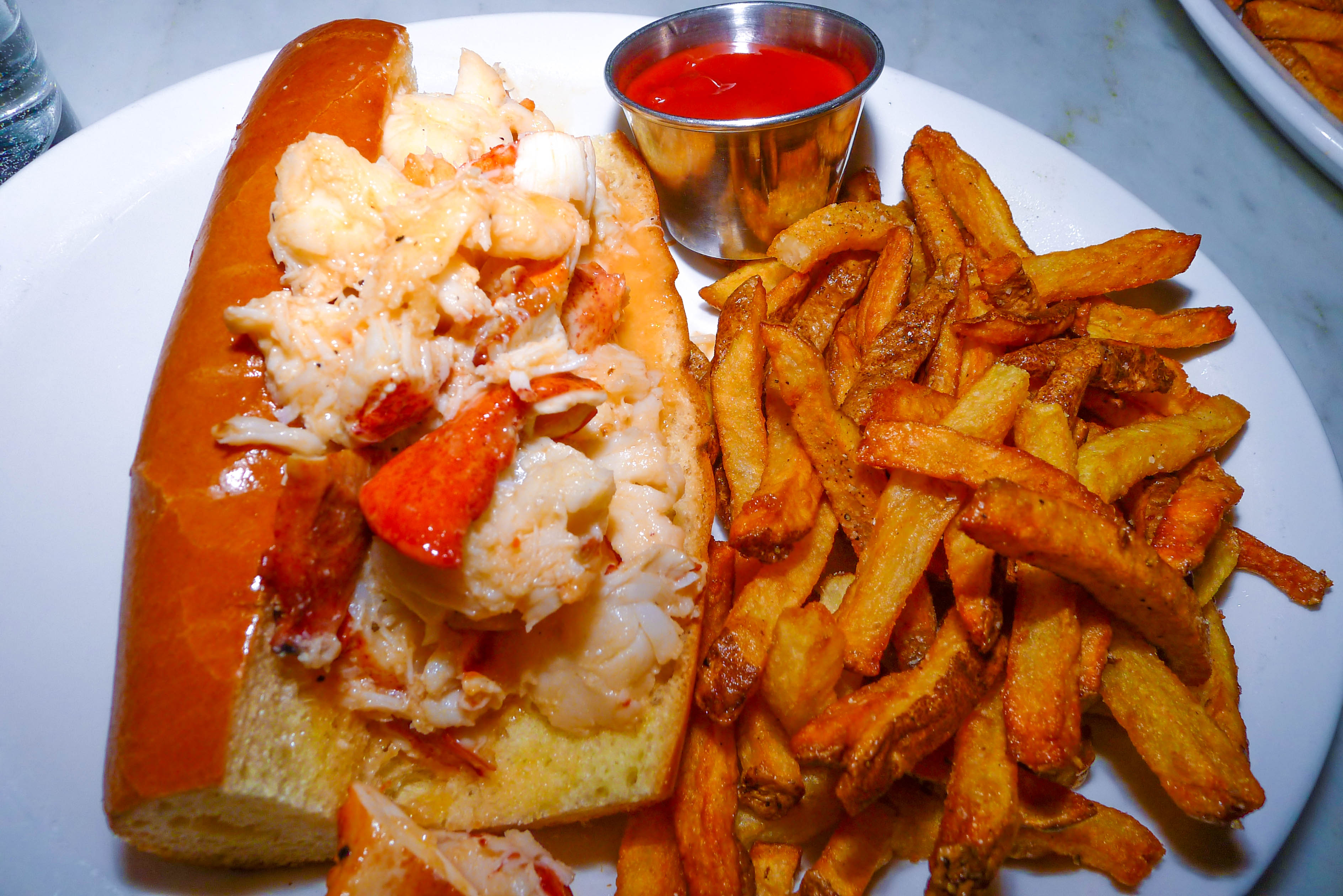 Lobster Roll @ Neptune Oyster North End Boston, MA